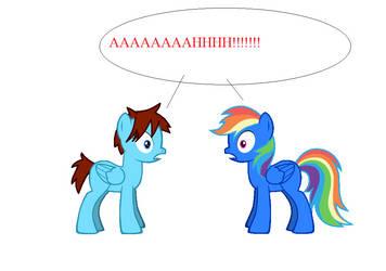 OH NO!!! by rarityponydesigner
