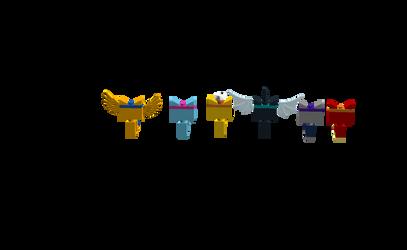 Lego My Little Kitty/Pony by rarityponydesigner