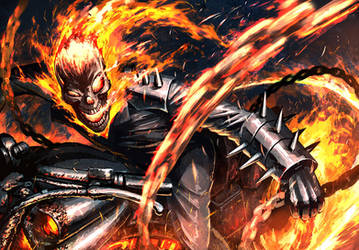 Ghost Rider by Hetza5721