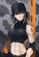 Close combat girl by Hetza5721