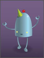 TL Bot's 4th Birthday - Vector by Red-Revolver
