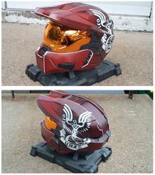 Custom Halo 3 Helmet by Red-Revolver