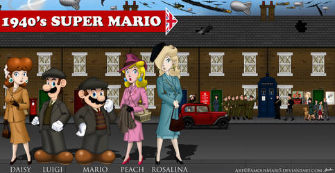 1940's Super Mario (British) by FamousMari5