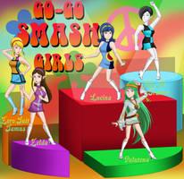60's Go-Go Smash Girls by FamousMari5