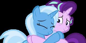 Trixie's apologise to Starlight by FamousMari5
