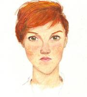 Redhead No. 4 by salamandertoast