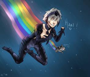 Nyan Cheshire ! (???) by Chokette