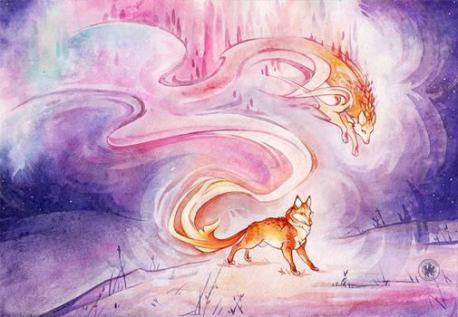 Fox lights by Avokad