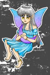 Chibi Moon Fairy by swizzle-stix