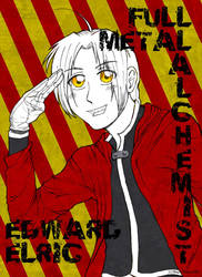 Fullmetal Alchemist: Edward by swizzle-stix