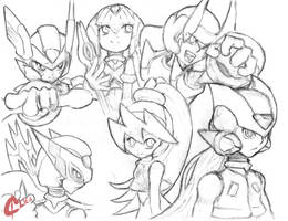 MMZ sketch by GreenClies