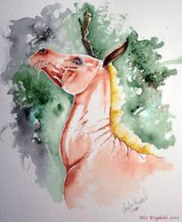 Doodle-moohose by wolfmoonie