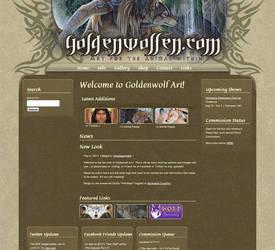 goldenwolfen.com by wolfmoonie