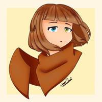 Kat (headshot) - profile pic by katzanimation