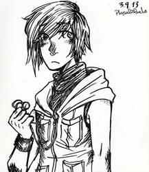 Speed draw Heather by otohimechan