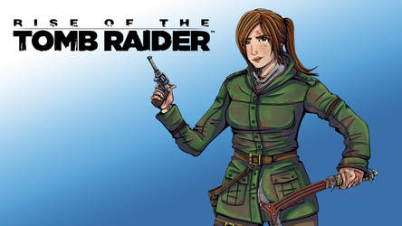 rise of Tomb Raider by Cleoam