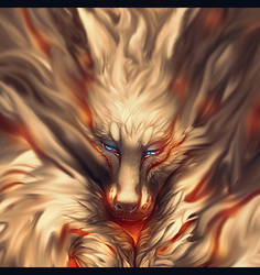 AVATAR-Ancient Wolf by TheFallenAD