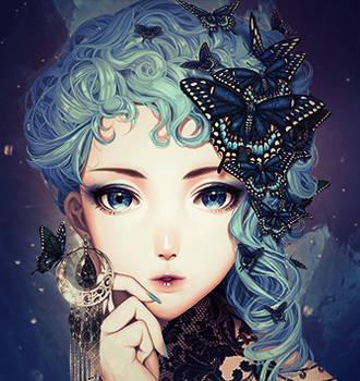 AVATAR-Butterfly Girl by TheFallenAD
