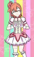 Yui Yuigahama Magical Girl (Oreigaru X Madoka) by osbaldokun