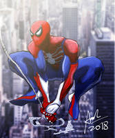 Spider-Man PS4 by Super-Aaron-360