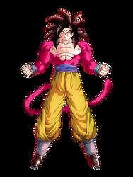 Goku ssj4 render 3 [Dokkan Battle] by maxiuchiha22