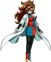 Android 21 (Fighter Z) render 5 by maxiuchiha22