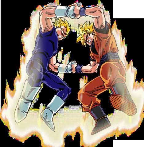 Goku Vs Majin Vegeta Render 3 Budokai By Maxiuchiha22 On Deviantart