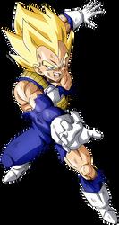 Vegeta ssj - Cooler returns render [Dokkan Battle] by maxiuchiha22