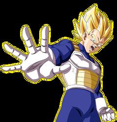 Vegeta ssj Android Saga render 5 [Dokkan Battle] by maxiuchiha22