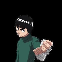 Young Rock Lee render 5 [Ultimate Ninja] by maxiuchiha22