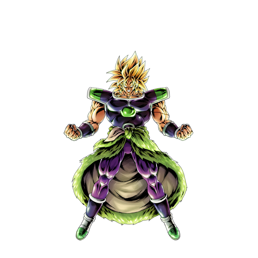 Dragon Ball Broly Full Movie: Broly Ssj (Broly Movie 2018) Render [DB Legends] By