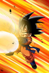 Goten card 2 [Bucchigiri Match] by maxiuchiha22