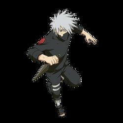 Kakashi (Vs Kakuzu) render [Naruto OL] by maxiuchiha22