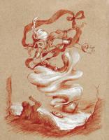 The Fisherman and the Marid by Lasarasu