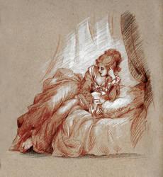 Jeune Femme by Lasarasu