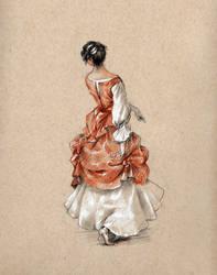 Madame de Pompadour by Lasarasu