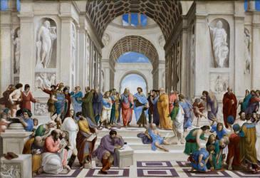 The School of Athens by Lasarasu