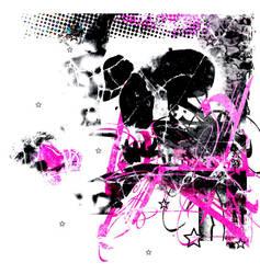 Pink Skull by nicholagrrr
