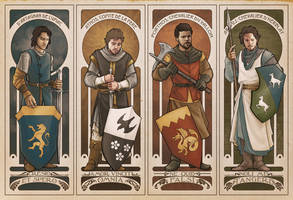 Musketeer Knights by AgarthanGuide