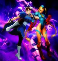 Chun Rii and Kyami by BeeVue