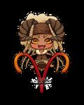 Chibi Aries by Lily-Fu