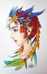'The Priestess' by Lily-Fu