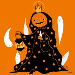 The Halloween Queen by Blacklottus