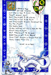 2014 Frost Dragon Invitation by Kimmers4Ever