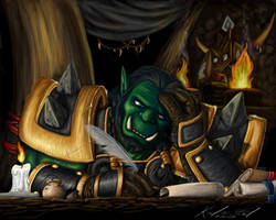 Blizz Art Contest - Thrall by Kimmers4Ever