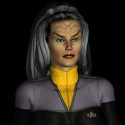 Star Trek DS9 tac-sec Klingon by MurbyTrek