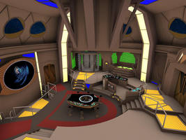 Deep Space 9 Control Room by MurbyTrek