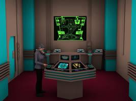 Romulan Warbird Engineering year 2369 by MurbyTrek