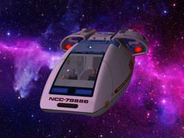 Starfleet Shuttle Type 10 Chaffee by MurbyTrek