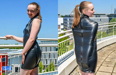 Is it a dress or an armbinder? by Captivekink